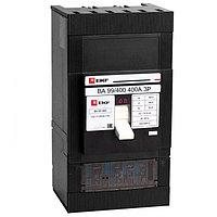 Автоматический выключатель ВА-99 400/400А 3P 35кА с электронным расцепителем EKF PROxima