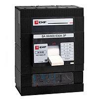 Автоматический выключатель ВА-99 800/800А 3P 35кА с электронным расцепителем EKF PROxima