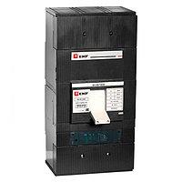 Автоматический выключатель ВА-99 1600/1000А 3P 50кА с электронным расцепителем EKF PROxima