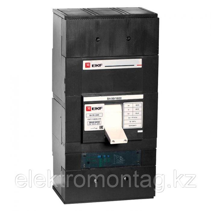 Автоматический выключатель ВА-99 1600/1600А 3P 50кА с электронным расцепителем EKF PROxima