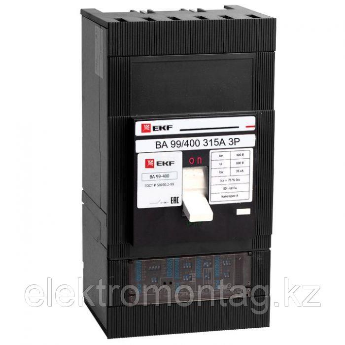 Автоматический выключатель ВА-99 400/315А 3P 35кА EKF PROxima