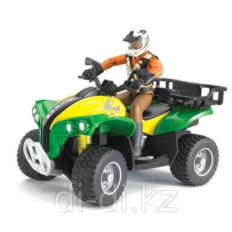 Игрушка Квадроцикл с гонщиком Bruder (Брудер)