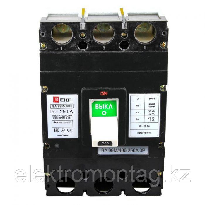 ВА-99М 400/250А 3P 42кА EKF Basic