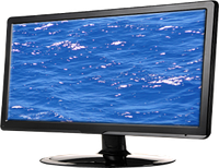 "Монитор ""QMAX LED Monitor 18.5"" Wide Screen 1366 x 768,6000:1,5ms,VGA,Black M:M989C"""