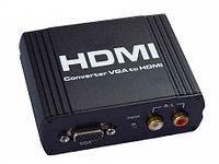 """Конвертер """"VGA to HDMI Converter box"""""""