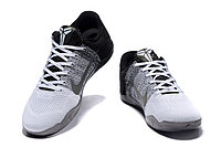 "Кроссовки Nike Kobe XI (11) Low ""White Grey Black"" (40-46), фото 4"