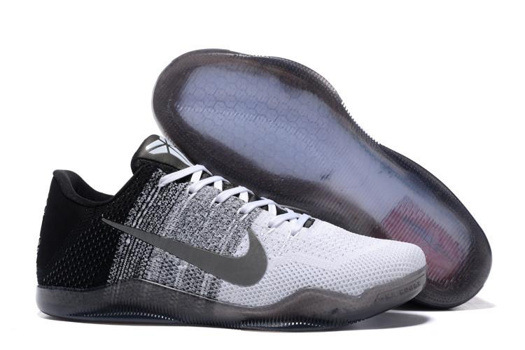 "Кроссовки Nike Kobe XI (11) Low ""White Grey Black"" (40-46)"