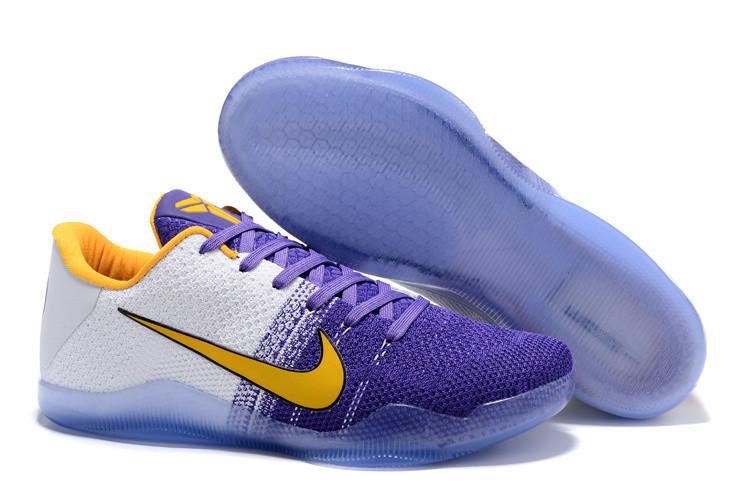 """Кроссовки Nike Kobe XI (11) Low """"Lakers"""" (40-46)"""