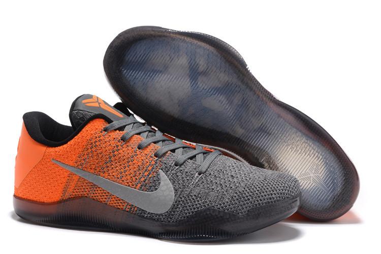 "Кроссовки Nike Kobe XI (11) Low ""Orange Grey"" (40-46)"