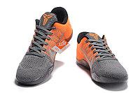 "Кроссовки Nike Kobe XI (11) Low ""Orange Grey"" (40-46), фото 4"