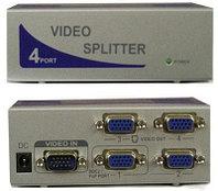 "Сплиттер ""VGA Spliter 4 Port Suitable For Common LCD Display Resolution:1920x1440 150 MHz  M:MT -1504"""
