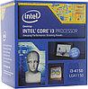 """Процессор """"CPU Intel Core i3 -4150 (3.5GHz) ,3MB Cache,Socket LGA 1150,65W, OEM"""""""