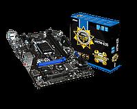 """Материнская плата """"MSI H97M-E35,m ATX 1150 iH 97 i3/ i5/ i7  1333-2400 MHz,DDR III 1333 Dual up to 32Gb"""""""
