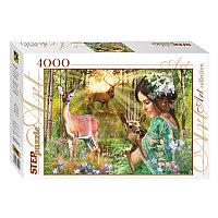 Пазл 4000 элементов картонный Волшебная долина