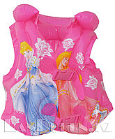 """Надувной спасательный жилет для плавания """"Принцессы Диснея"""" (SWIM VEST розовый)"""