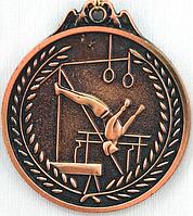 Медаль СПОРТИВНАЯ ГИМНАСТИКА (бронза)