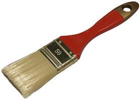 """Кисть плоская STAYER  """"AQUA-KANEKARON"""", искусственная щетина, деревянная ручка, 100мм"""