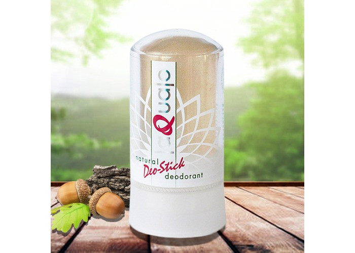 Минеральный дезодорант Laquale, от потливости в любых зонах, неприятного запаха, экстракт из коры дуба 60гр