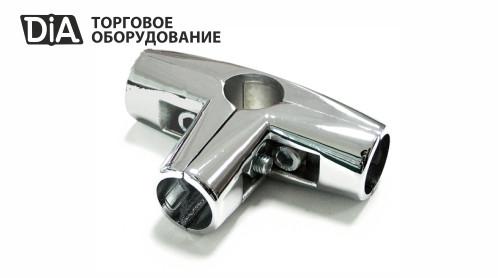 Соединитель d25 4 трубы Т-образный