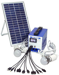 Электростанция с солнечной панелью SPS1206