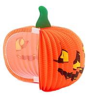 Бумажная тыква гармошка для Хэллоуина (маленькая)