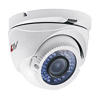 """TVI камера типа """"Шар"""", 720p, вариофокальный объектив 2.8-12мм, HLC, D-WDR, ИК до 40м, мех. ИК фильтр, 12В(DC),"""
