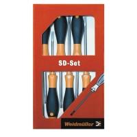 9009740000 Набор из 6 отверток SD SET S2.5-5.5/PH1/2