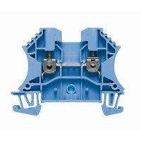 1020080000 Клемма WDU 2.5 BL Проходная клемма, Винтовое соединение, 2.5 mm², 800 V, 24 A, синий