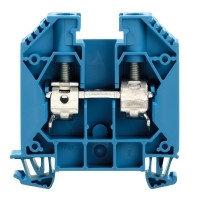 1028980000 Клемма WDU 16/ZA BL Проходная клемма, Винтовое соединение, 16 mm², 1000 V, 76 A, синий