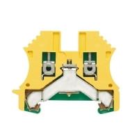 1010100000 Клемма WPE 4 Клеммы PE, Винтовое соединение, 4 mm², 480 A (4 мм²), зеленый/желтый