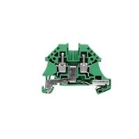 1042700000 Клемма WPE 4N Клеммы PE, Винтовое соединение, 4 mm², 480 A (4 мм²), зеленый/желтый