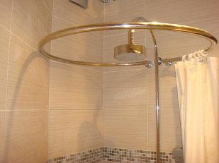 Карнизы для ванной нержавеющие