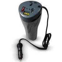 Преобразователь автомобильный с 12V на 220V ( + USB выходами для зарядок )