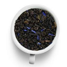 Китайский Зеленый чай с черникой 100 гр.