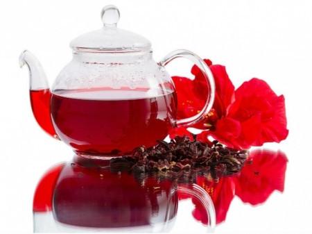 Черный чай каркаде (100гр.)