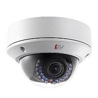 Купольная, уличная антивандальная TVI камера, 1080p, f=2.8-12мм, моторизированный объектив, BLC,HLC, D-WDR, OS