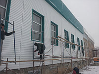 """Сайдинг Металлический  """"Корабельная доска"""" для отделки фасадов зданий домов"""