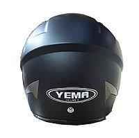Мотошлем YM-827 черный матовый (XS)