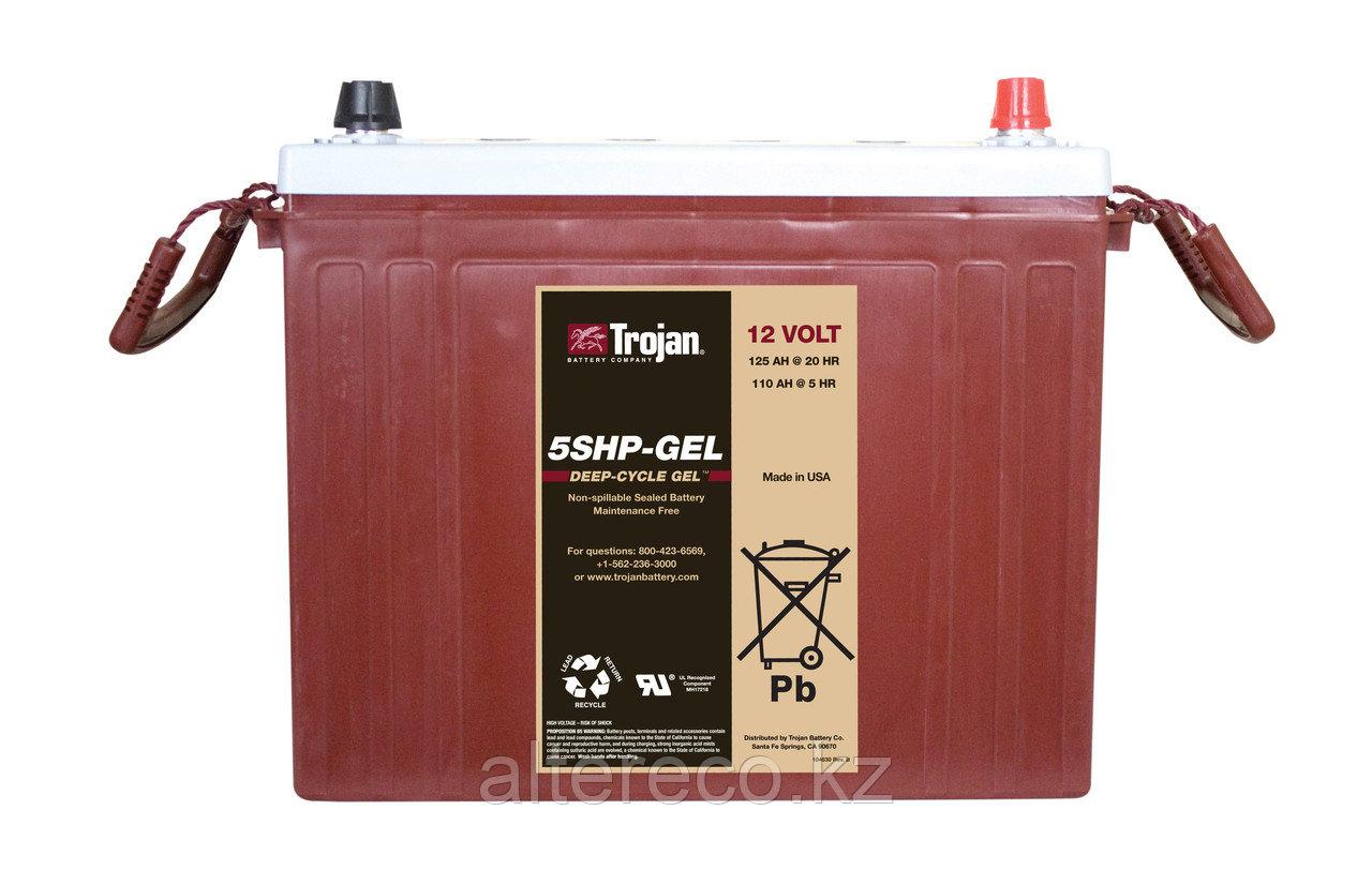 Тяговый аккумулятор Trojan 5SHP-GEL (12В, 125Ач)