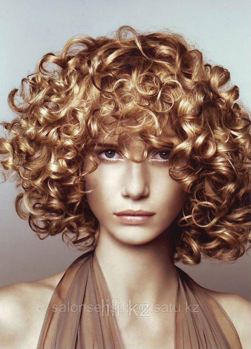 Био - завивка волос цена от 10 000 тг.
