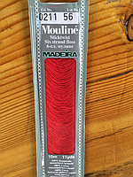 """Нитки мулине """"Madeira"""" цвет 0211"""