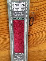 """Нитки мулине """"Madeira"""" цвет 0704"""