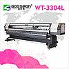 Широкоформатный сольвентный принтер  BOSSRON WT-3304L
