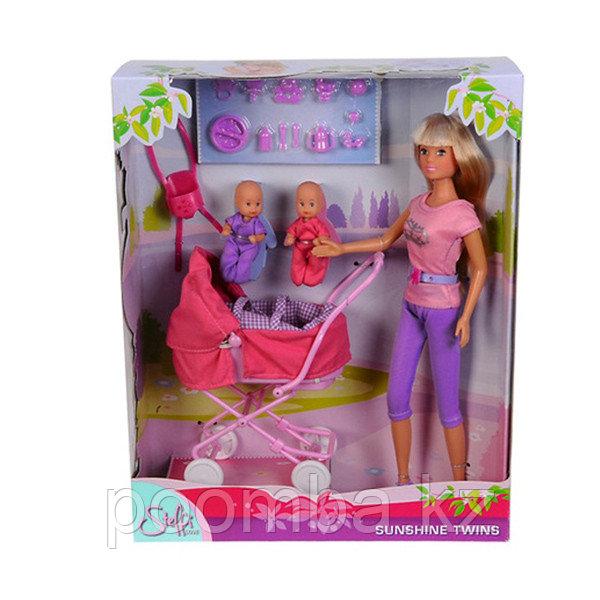 Кукла Штеффи с коляской