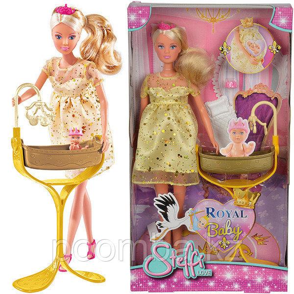 Кукла Штеффи беременная королевский набор