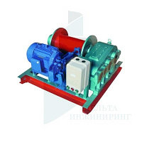 Лебедка электрическая TOR JM 1 т 20 м (б/каната)