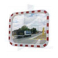 Зеркало уличное прямоугольное с окантовкой 800х1000мм