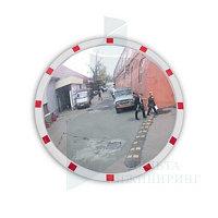 Зеркало уличное круглое с окантовкой 600мм