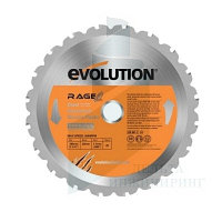 Диск Evolution RAGEBLADE210MULTI 210х25,4х2х30, универсальный