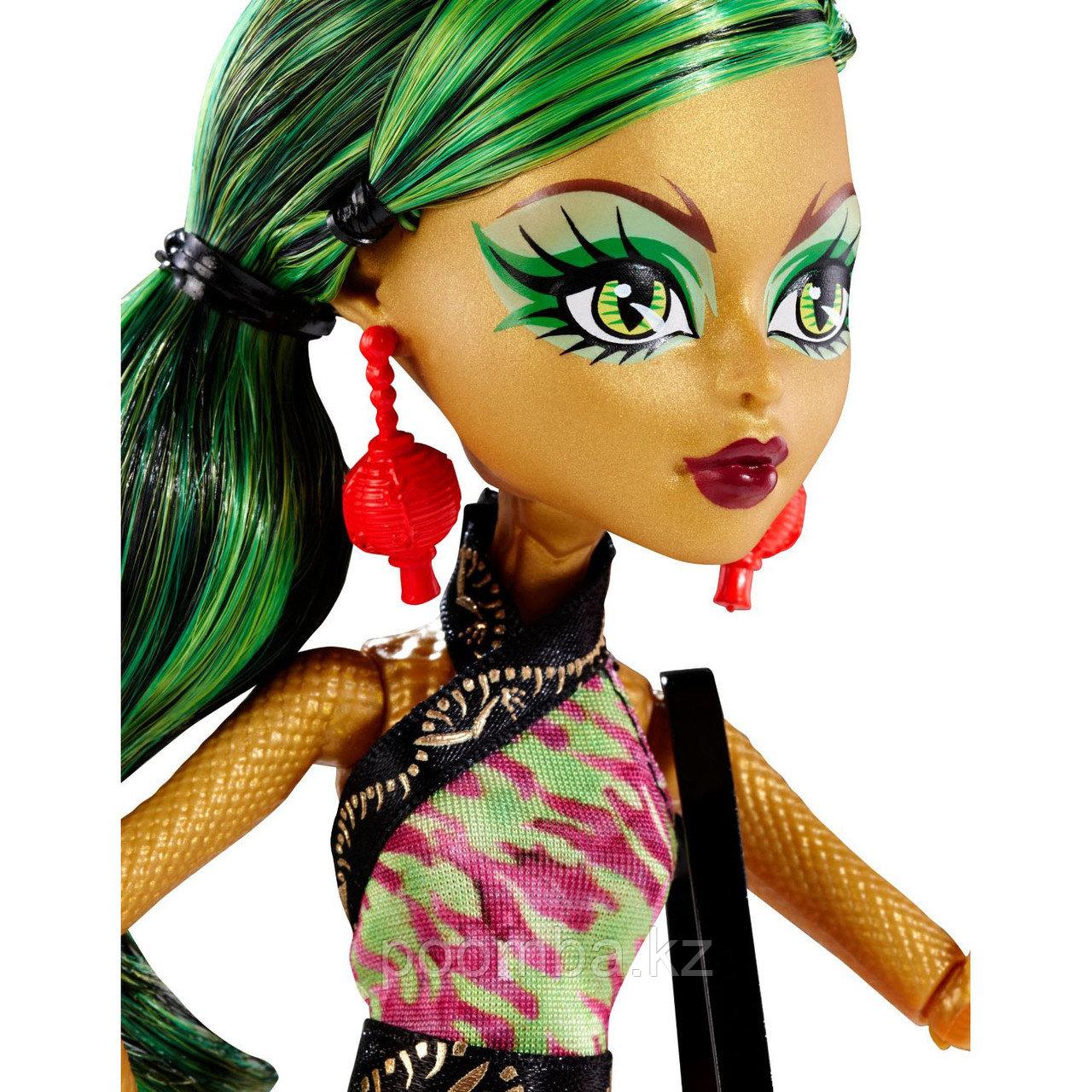 Кукла 'Джинафайр Лонг' (Jinafire Long), серия Scaremester, 'Школа Монстров', Monster High